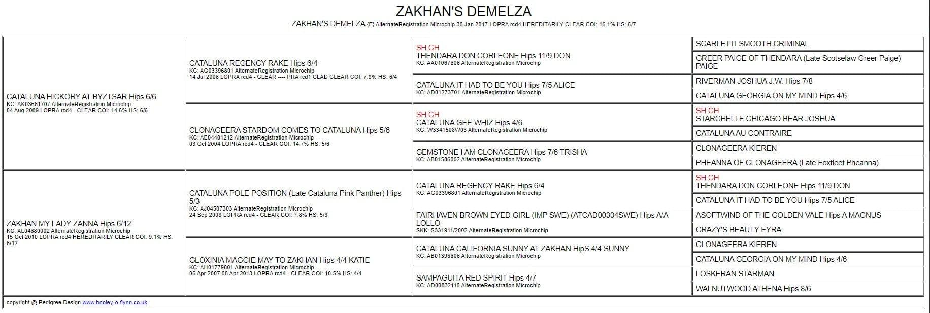 ZAKHANS DEMELZA